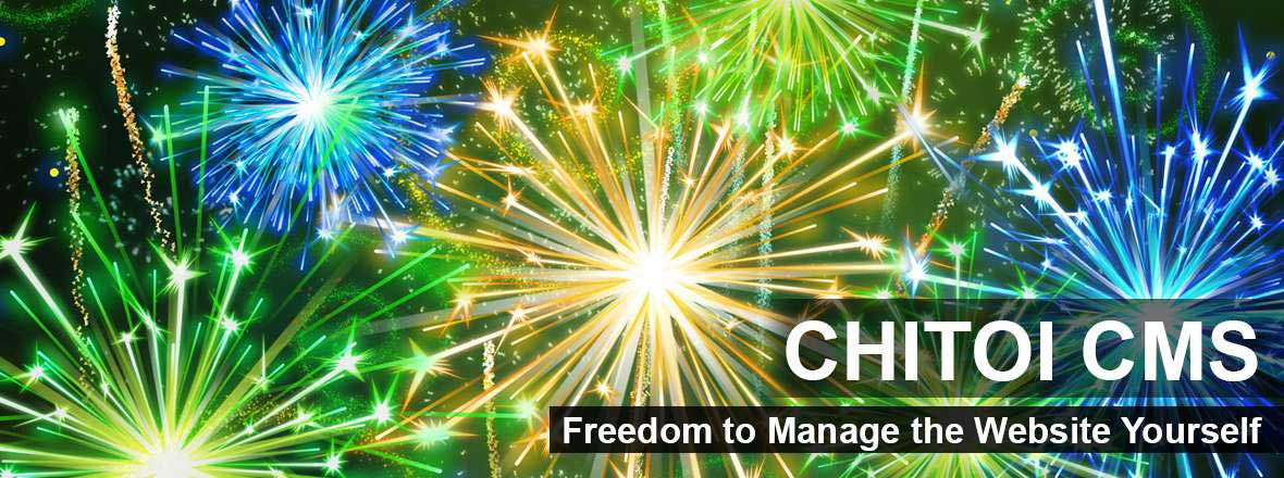 Freedom to Manage the Website Yourself